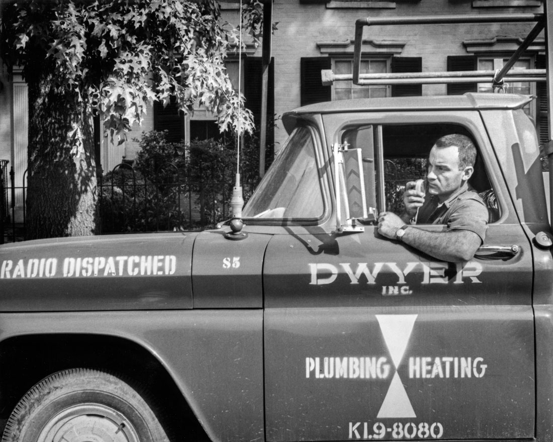 Dwyer Radio Dispatched Truck